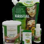 Stevia Kennismakingspakket Pakket: 4 stevia artikelen